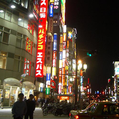 歌舞伎町遠景