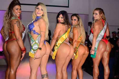 優勝したスージーさん(中央) ミス・ブンブン・ブラジル公式サイトから