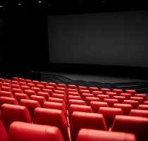 movie theater or cinema empty auditorium