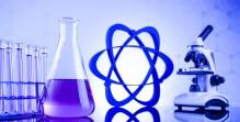 Science concept, Chemical laboratory glassware