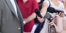 Media interview. Broadcast journalism.