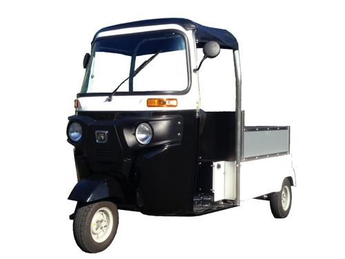 日本エレクトライク社の三輪電気自動車『エレクトライク』