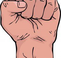 Cartoon fist