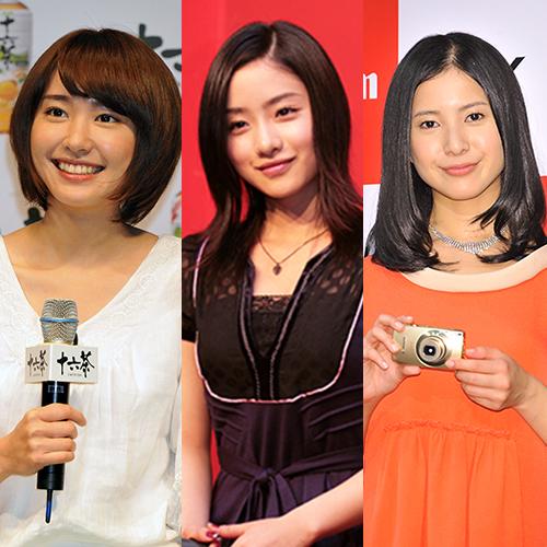 【芸能】石原さとみと新垣結衣と吉高由里子「3大アラサー女優」最高峰は?