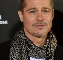Brad Pitt attends Allied premiere in Madrid