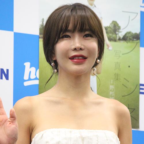 韓国の女子ゴルファーのアン・シネ