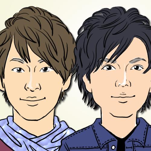 『NEWS』の小山慶一郎と加藤シゲアキ