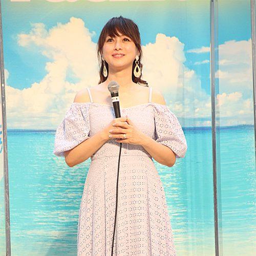 """""""生""""の渡辺美奈代は超カワイイ!? セーフティファッションショーに登壇"""
